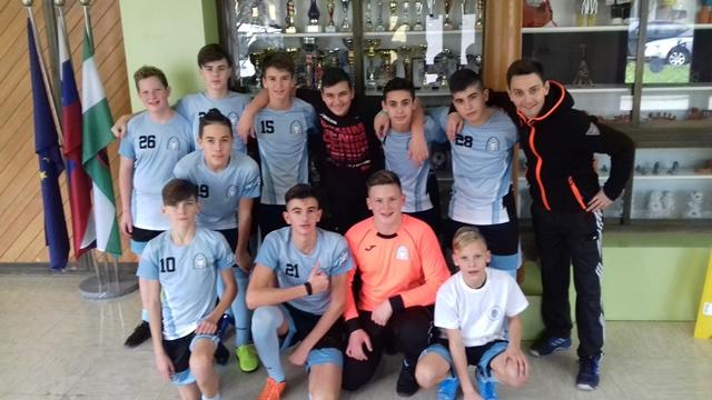 Področno prvenstvo nogomet- starejši dečki 28. 11. 019