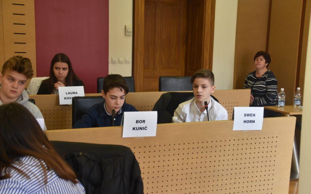 30. regijski otroški parlament