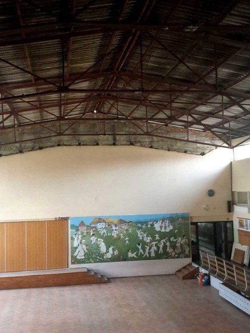 Pojasnilo o stanju strehe na jedilnici šole