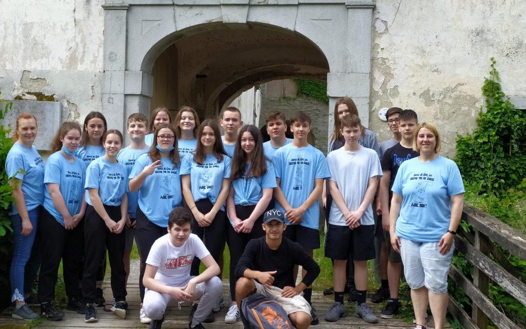 Zaključna ekskurzija devetošolcev po Beli krajini