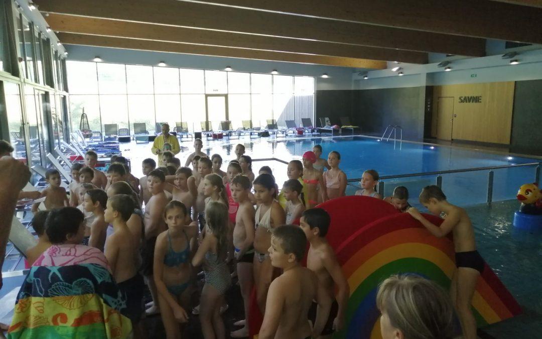Plavalni tečaj za četrtošolce