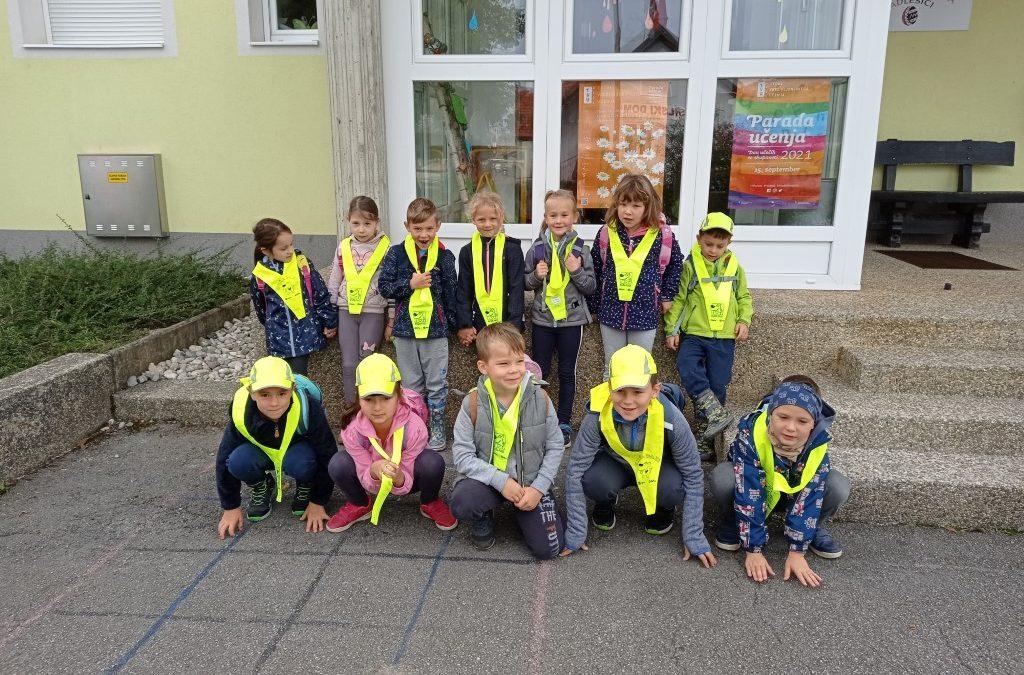 Športni dan učencev 1. in 2. razreda Podružnične šole Adlešiči